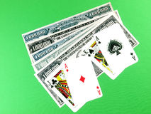 Blackjack winners Royalty Free Stock Images