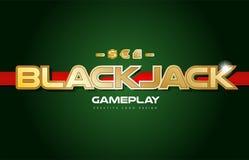 Free Blackjack Word Text Logo Banner Postcard Design Typography Stock Photography - 100647962