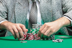 Blackjacksieger Lizenzfreie Stockfotos