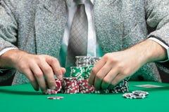 Blackjackvinnare royaltyfria foton