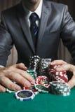 Blackjackwinnaar Royalty-vrije Stock Fotografie