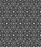 Blackl koronki wzór Zdjęcie Stock