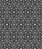 Blackl lace pattern Stock Photo