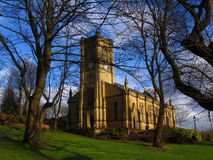 blackley kyrkliga manchester uk royaltyfria bilder