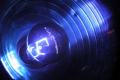 Blacklight and Reflector Royalty Free Stock Photo