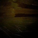 Blackly het geelgroene abstracte schilderen door olie op een canvas voor royalty-vrije illustratie