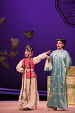 "Blackmail scholar-Kunqu Opera ""the West Chamber"" Royalty Free Stock Photos"