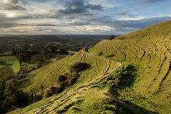 Blackmore dolina od Hambledon wzgórza, Dorset, UK obrazy royalty free