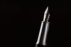 Blackned pen Royalty-vrije Stock Foto