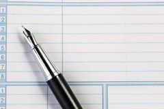 Blackned pen Stock Afbeelding