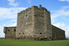 Blackness castle Royalty Free Stock Photo