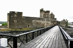 Blackness Castle Stock Image