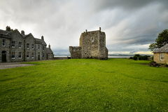 Blackness Castle is a boat shaped fortress, Scotland, UK Royalty Free Stock Images