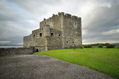 Blackness Castle is a boat shaped fortress, Royalty Free Stock Photos