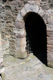 Blackness Castle Entrance Stock Photo