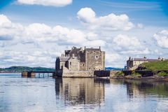 Blackness Castle On The Firth Of Forth, Near Linlithgow, Scotland, UK. The Castle Has Been A Film And TV Location For Hamlet, Iva Stock Images