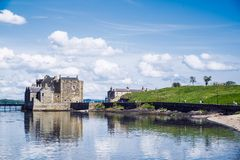 Blackness Castle On The Firth Of Forth, Near Linlithgow, Scotland, UK. The Castle Has Been A Film And TV Location For Hamlet, Iva Stock Photography