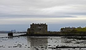 Blackness castle a outlander location in Scotland Stock Photography