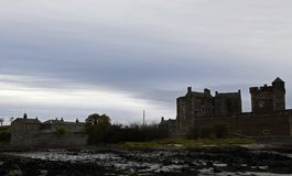 Blackness castle a outlander location in Scotland Stock Images