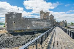 Blackness Castle, near the omonimous village in the council area of Falkirk, Scotland. Stock Photos