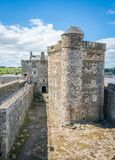 Blackness Castle, near the omonimous village in the council area of Falkirk, Scotland. Stock Photo