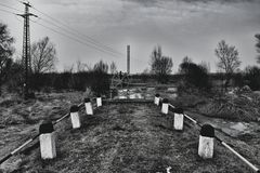 Blacknwhite Imagen de archivo
