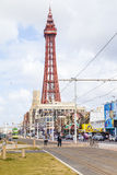 Blackpool's Golden Mile Royalty Free Stock Photo