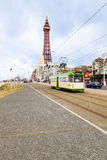 Blackpool's Golden Mile Stock Photos