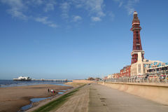 Blackpool. Photo stock