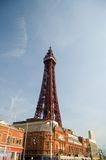 Blackpool. Tower and blue sky Stock Photo