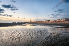 Blackpool Beach Stock Images