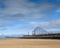 Blackpool Beach Royalty Free Stock Photo