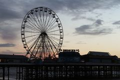 Blackpool Big Wheel Royalty Free Stock Photos