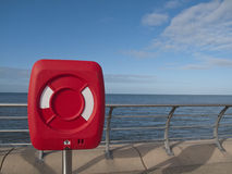 Blackpool coast lifesaver stock photography