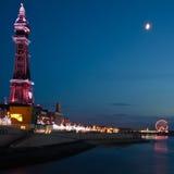 Blackpool-Kontrollturm Lizenzfreie Stockfotos