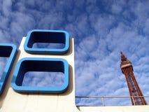Blackpool-Kontrollturm stockfoto