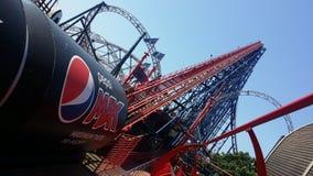 Blackpool maximal Pepsi royaltyfri foto