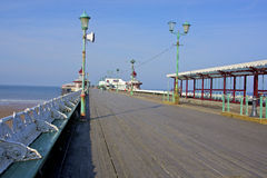 Blackpool molo Zdjęcia Stock