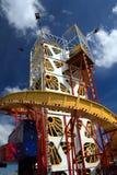 Blackpool-Pier Helter Skelter lizenzfreies stockfoto