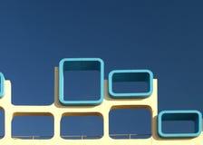 Blackpool promenada architektury Zdjęcie Royalty Free