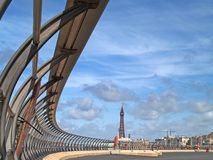 Blackpool Promenade Royalty Free Stock Photo
