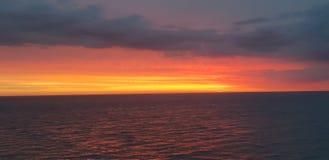 Blackpool solnedgång fotografering för bildbyråer