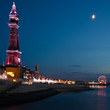Blackpool torn Royaltyfria Foton