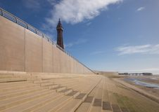 Blackpool Tower Royalty Free Stock Photography