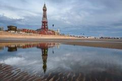 Blackpool tower, Lancashire, England Stock Photo
