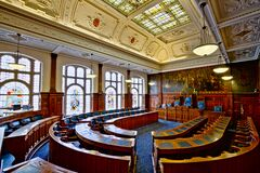 Blackpool Town Hall Chambers Royalty Free Stock Photo
