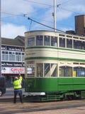 Blackpool tram Royalty Free Stock Photos