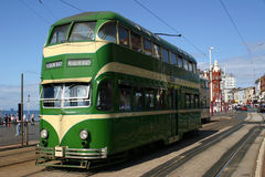 Blackpool Tram Stock Photography