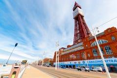 Blackpool-Turm Lizenzfreie Stockbilder