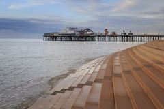 Blackpool UK arkivbild